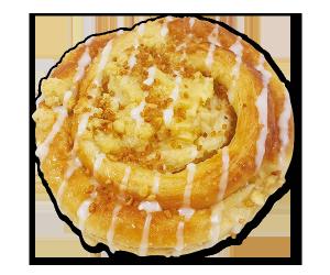 Evertzberg Apfel-Krokant-Schnecken