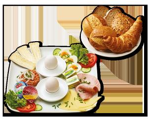 Evertzberg Genießer-Frühstück für 2 Pers.
