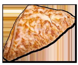 Evertzberg Hefe-Apfeltasche