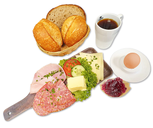 Evertzberg Bergisch-Plus-Frühstück