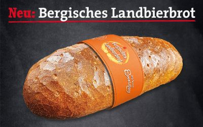 Neu: Unser Bergisches Landbierbrot