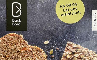 Bald bei uns: die BIO-Brote der Bio-Bäckerei Back Bord!