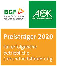 AOK Gesundheitspreis 2020