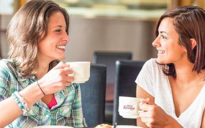 Café-Bereiche wieder vollständig geöffnet!