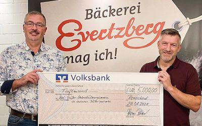 Flut-Brot: 5.000 Euro Spende dank eurer Hilfe!